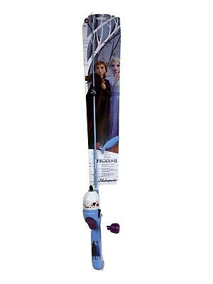 Shakespeare Disney Frozen II Youth Fishing Rod and Reel Kit