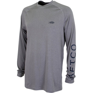 Samurai 2 Heathered Performance Fishing Shirt from AFTCO