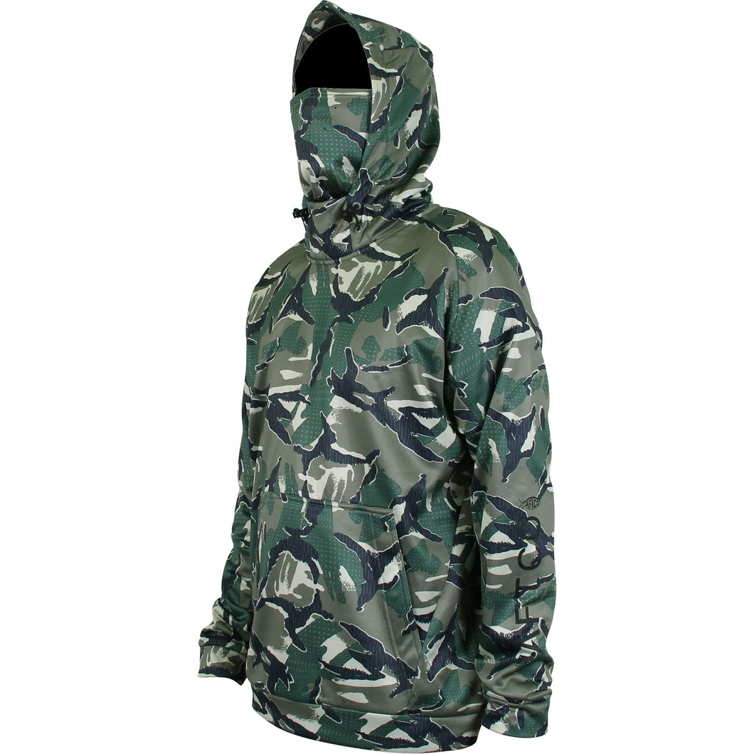 Reaper Camo Technical Fleece Hoodie from AFTCO