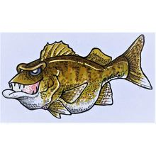 Jiggy (Walleye) Decal