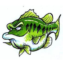 Lucky (Largemouth Bass) Decal