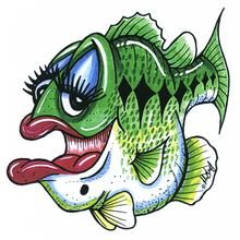 Rosie (Largemouth Bass) Decal