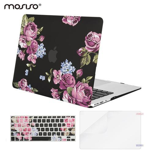 wholesale dealer 77e70 bf407 Floral Shell Hard Case for Macbook Air 13