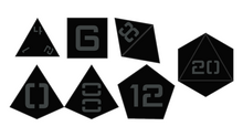 Load image into Gallery viewer, F-117 - Upstart Dice 7-piece