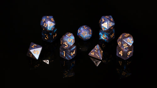 Cosmic Trial - Domestic Dice 11-piece