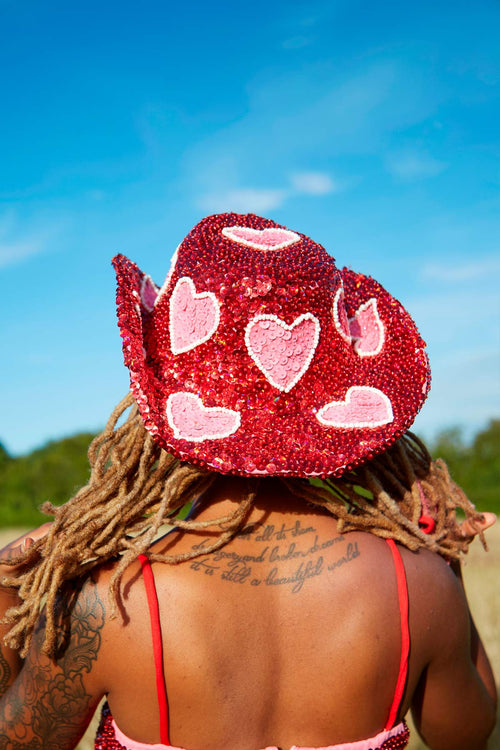 Cupid Cowgirl Hat - Easy Tiger