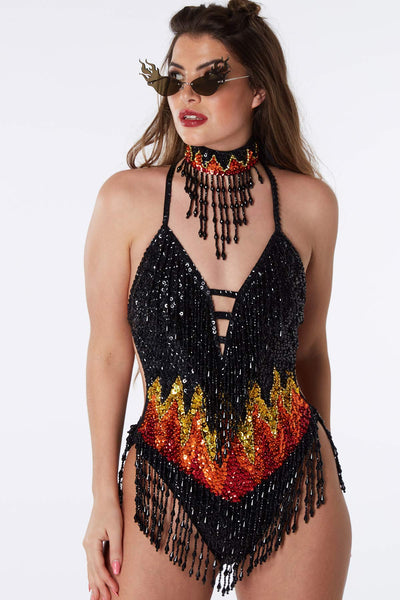 Firestarter Bodysuit  Easy Tiger BODYSUIT shop-easytiger.myshopify.com Easy Tiger