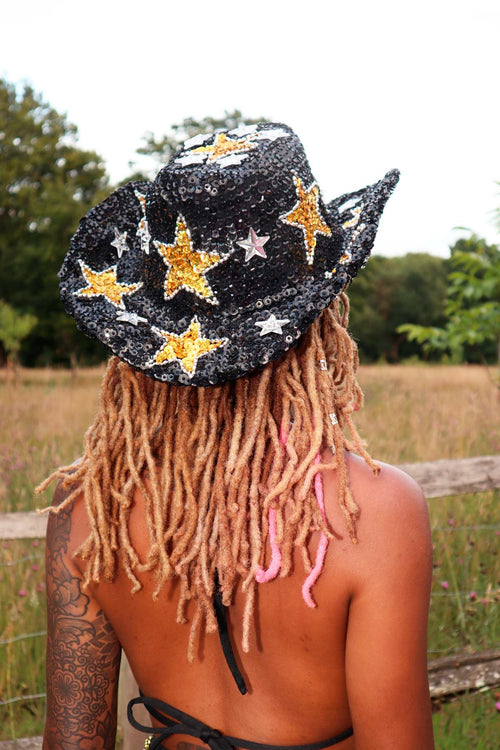 Star Girl Sequin Hat - Easy Tiger