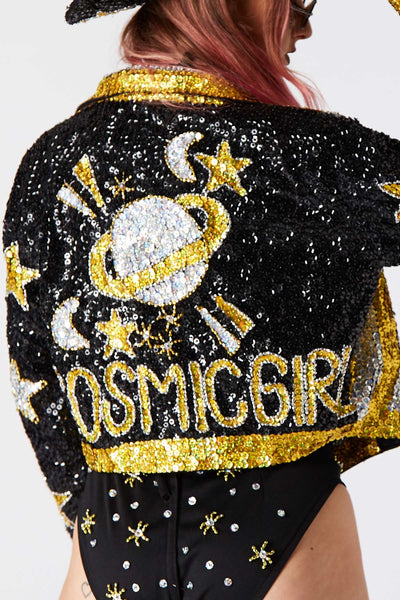 COSMIC GIRL Galaxy Jacket (PREORDER)  Easy Tiger  shop-easytiger.myshopify.com Easy Tiger