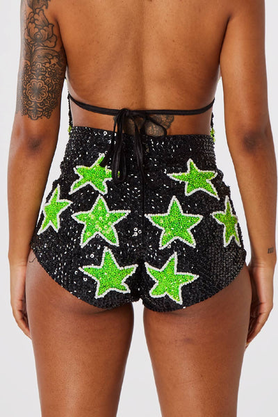 EXTRAterrestrial Star Shorts  Easy Tiger SHORTS shop-easytiger.myshopify.com Easy Tiger
