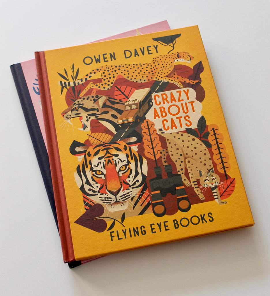 Crazy About Cats Illustrated Books - Owen Davey