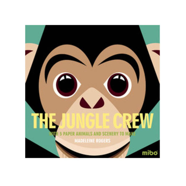 Mibo Button Book - The Jungle Crew