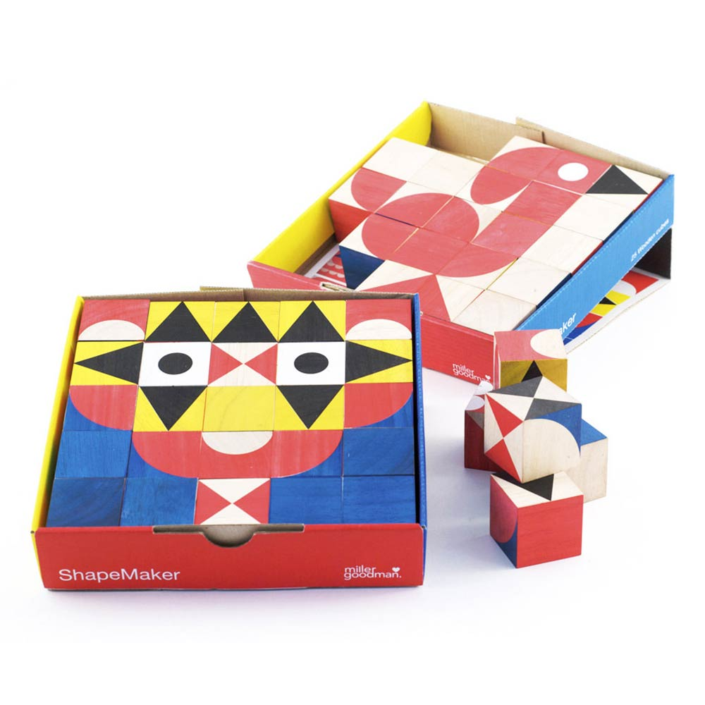 Miller Goodman - Shapemaker Wooden Toy
