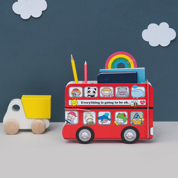 Noodoll - London Bus Stationery Holder