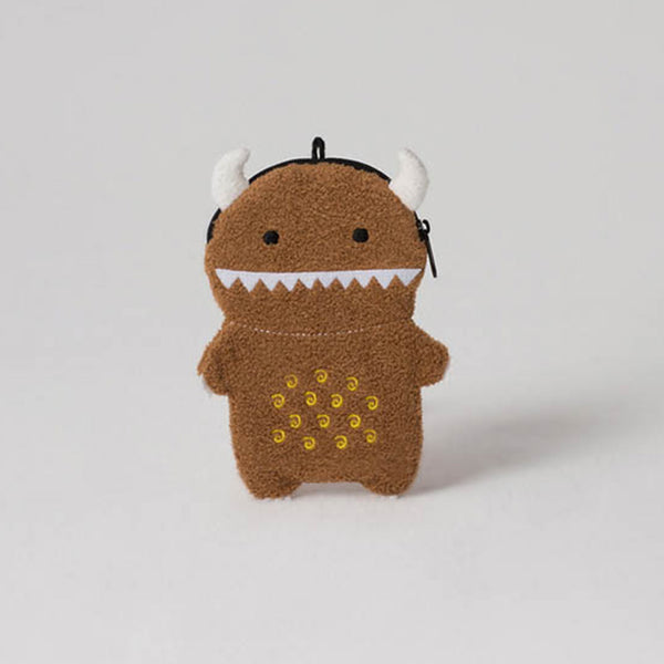 Noodoll - Ricemon Brown Zip Case