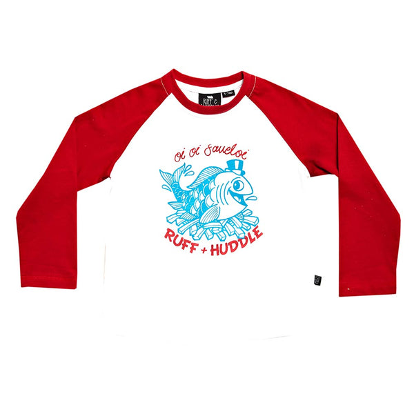 Logo Print Long Sleeve Top