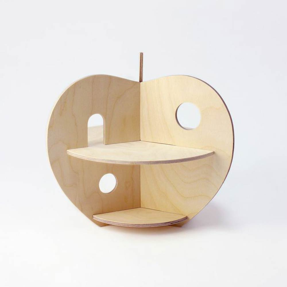 Apple Wooden House