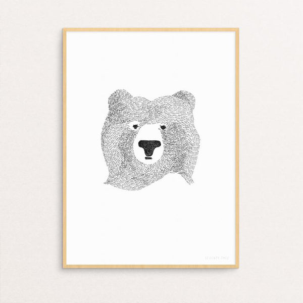 Seventy Tree - Bear Of Few Words Print