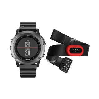 Garmin, fenix 3 (Sapphire with Metal Band) + HRM-Run