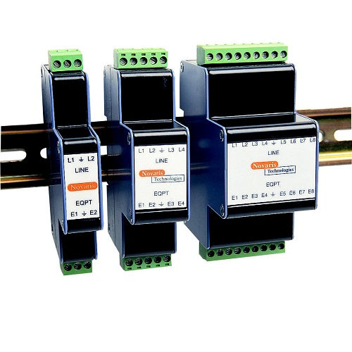 Novaris, Signal Line Surge Protection - 2 Pairs RS485 DINSafe (SL2DIN-485)