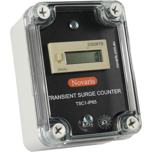 Novaris, Transient Surge Counter (TSC1-IP65)