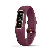 Load image into Gallery viewer, Garmin, vivosmart 4 (Rose Gold with Berry Band)