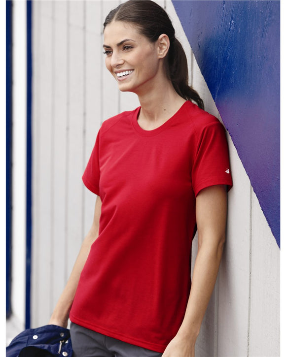 B-Tech Cotton-Feel Women's Short Sleeve T-Shirt