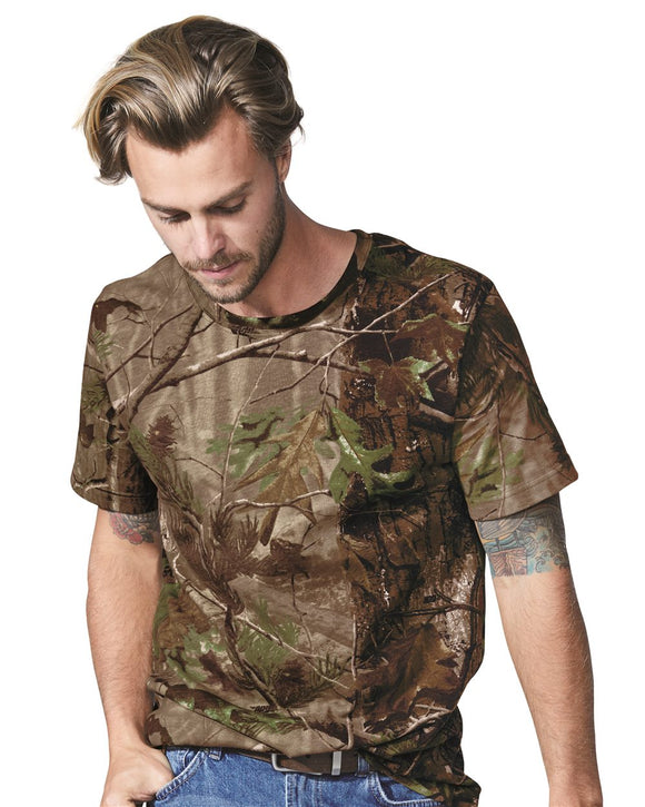"Adult Realtree"" Camo Tee"