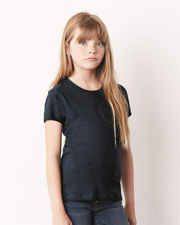 Girls' Short Sleeve Jersey Tee