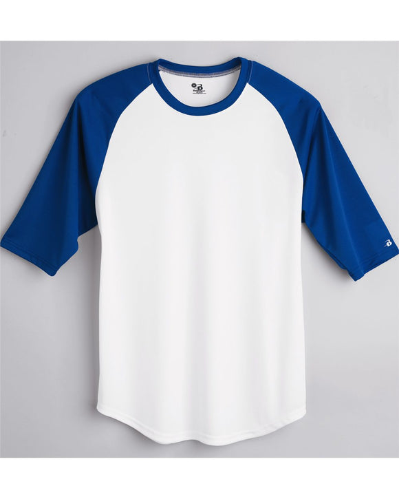 B-Core Youth 3/4 Sleeve Baseball T-Shirt