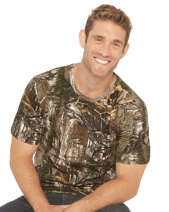 "Adult Realtree"" Camo Pocket Tee"