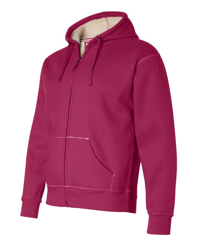 Full-Zip Hooded Thermal with Sherpa Lining