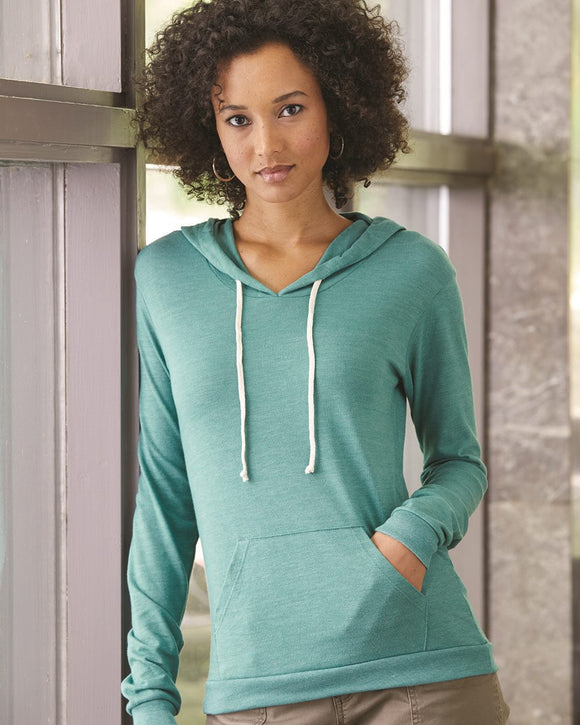 Women's Eco-Jersey? Classic Hooded Pullover T-Shirt