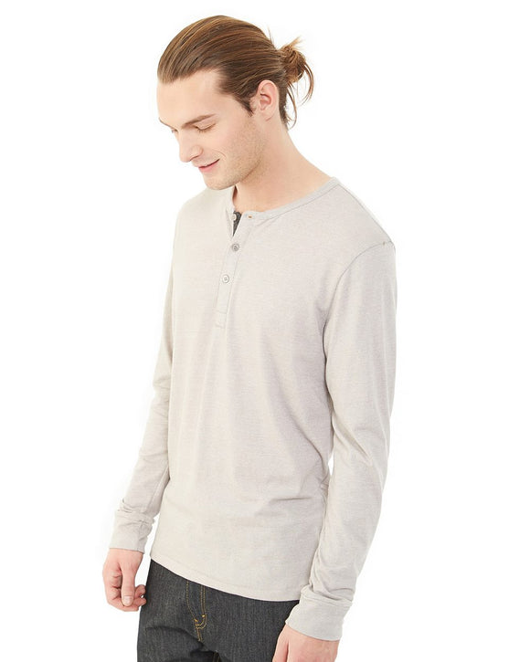 Eco-Mock Twist Long Sleeve Henley