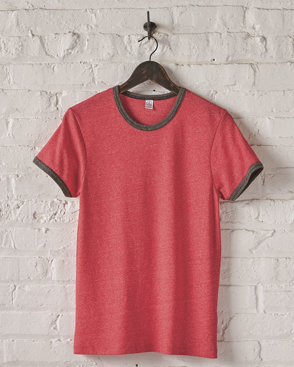 Eco Mock Twist Ringer Crew T-Shirt