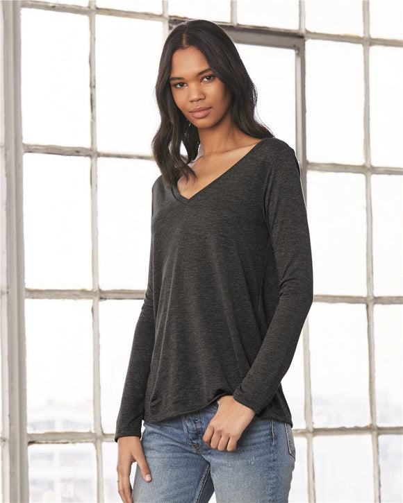Women's Flowy Long Sleeve Tee