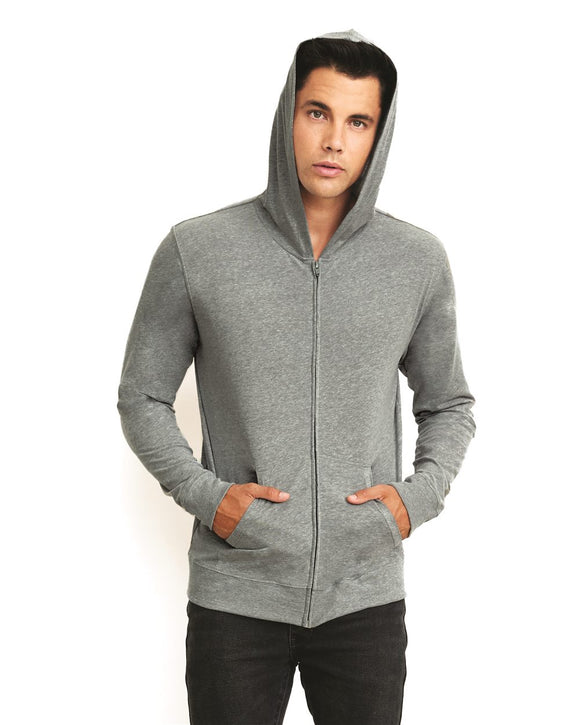 Sueded Zip Hoody