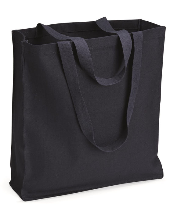 13.7L Gusseted Canvas Shopper