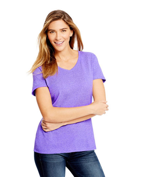 Women's X-Temp? V-Neck Triblend Tee with Fresh IQ