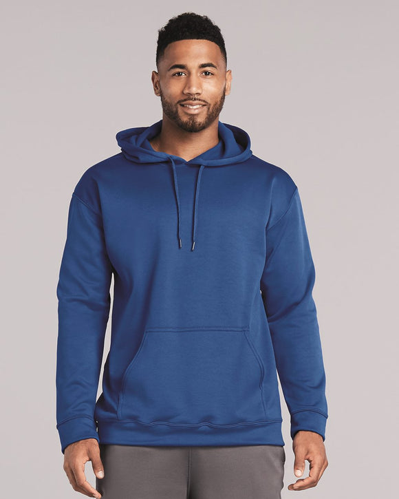 "Performance"" Tech Hooded Pullover Sweatshirt"