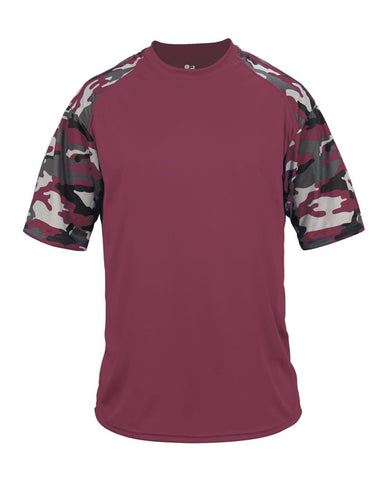 Camo Youth Sport T-Shirt
