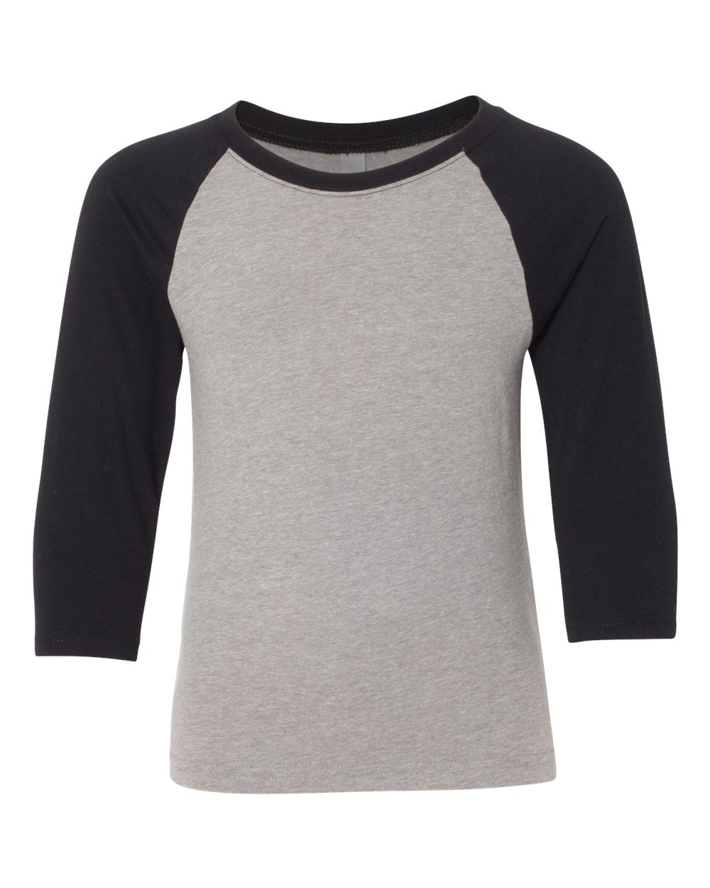 Youth CVC Three-Quarter Sleeve Raglan T-Shirt