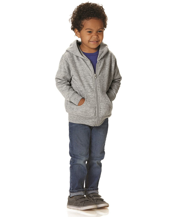 Toddler Full-Zip Fleece Hooded Sweatshirt