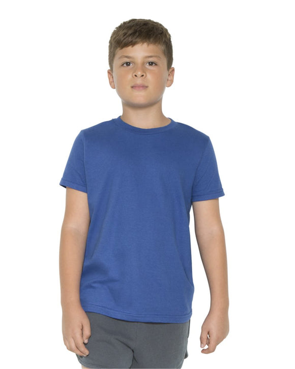 Youth Fine Jersey Short Sleeve T-Shirt (USA)