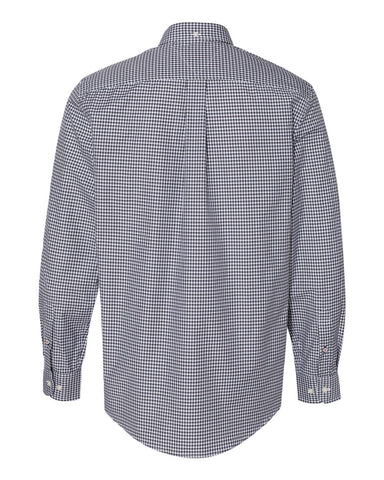 100s Two-Ply Gingham Shirt