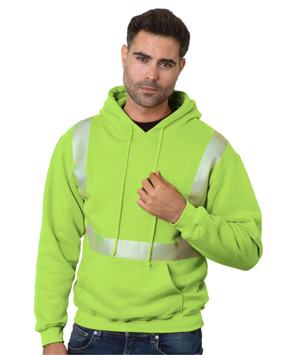 High Visibility Hooded Pullover