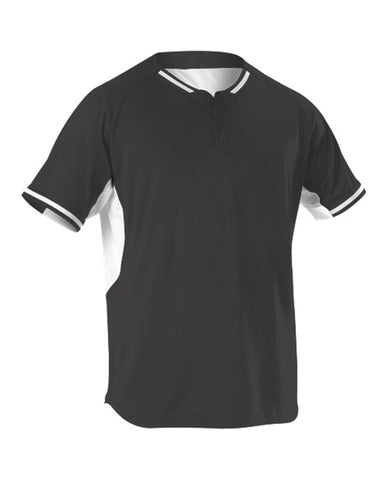 Youth Two Button Baseball Jersey