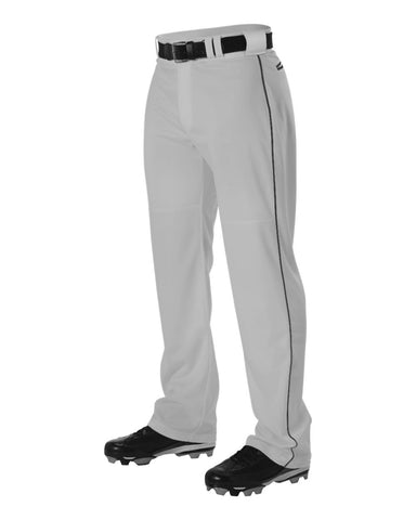 Youth Warp Knit Baseball Pant With Side Braid