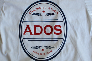 Official ADOS T-Shirt in White