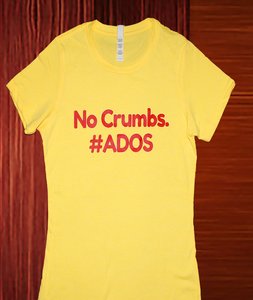 Yellow Women's #ADOS tee shirt